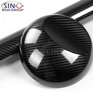 CL-6DCF Супер Gloss 6D углерод волокно винил