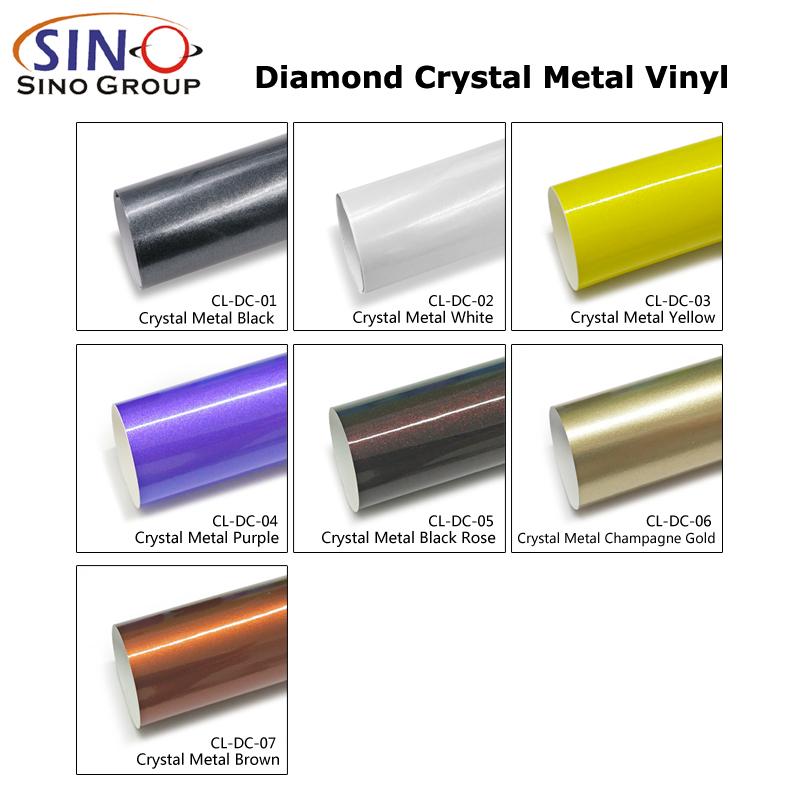 CL-DC Алмазный кристалл металлический корпус автомобиля виниловая наклейка