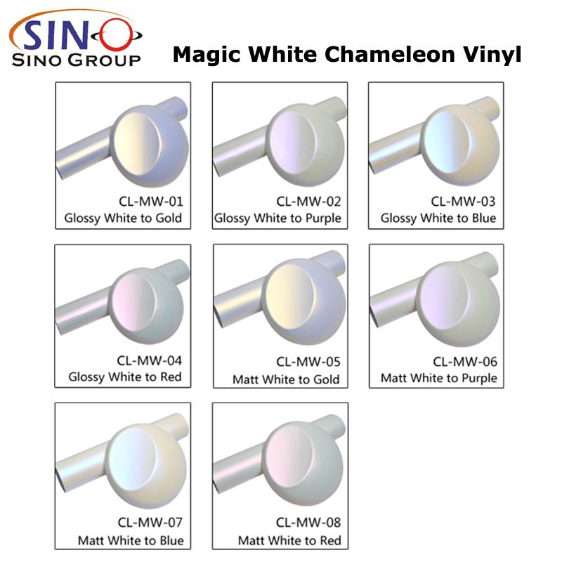 CARLIKE CL-MW Волшебный хамелеон матовый блеск  Виниловая пленка для смены цвета автомобиля