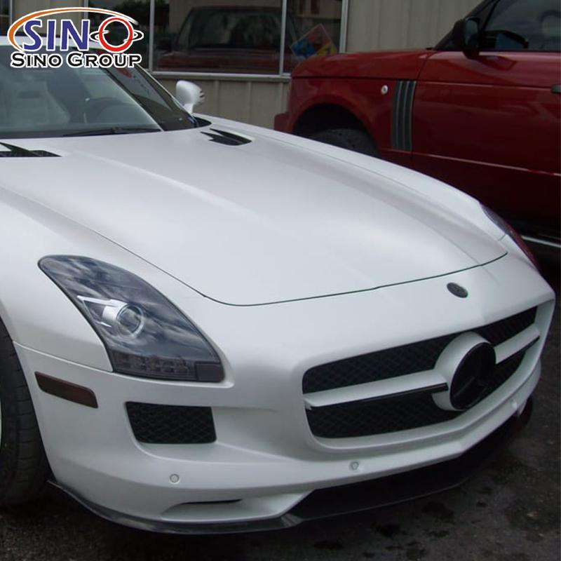 CARLIKE CL-PW Глянцевый матовый перламутровый белый автомобильный винил